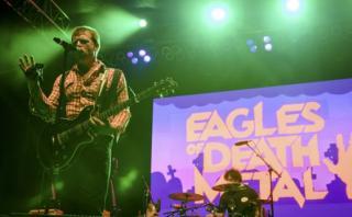 """El relato de """"Eagles of Death Metal"""" sobre el ataque en París"""
