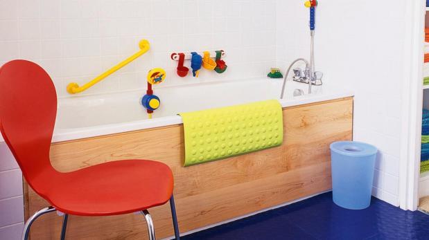 Cómo lograr un baño seguro para tus niños
