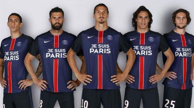 PSG usará esta camiseta en homenaje a las víctimas de París  4b217b5b200
