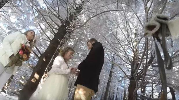 Perro filma la boda de sus amos y este fue el resultado [VIDEO]