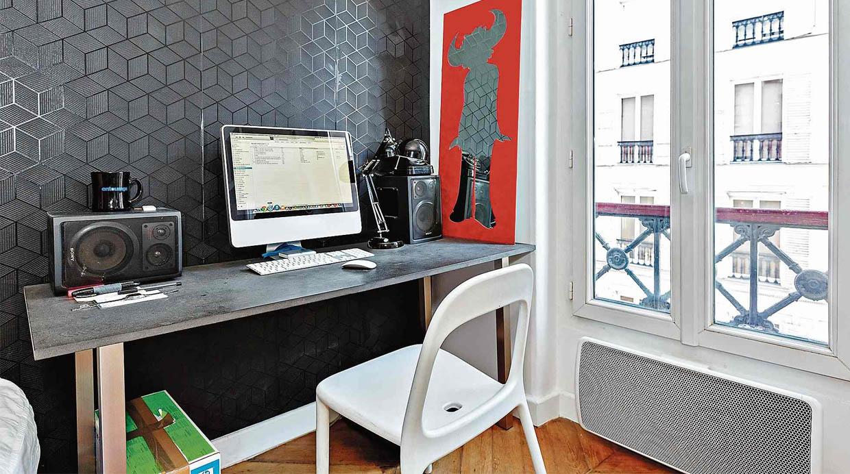 Cinco consejos para armar un escritorio dentro del - Escritorio para dormitorio ...