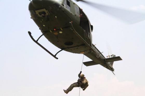 Fenómeno de El Niño: simulan rescate aéreo en Chosica [FOTOS]