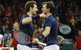 Copa Davis: Hermanos Murray acercan a Reino Unido al título