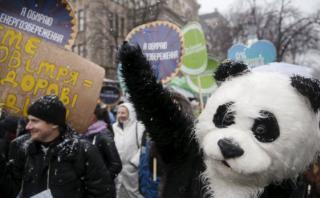 Manifestaciones en el mundo antes de cumbre del clima de París