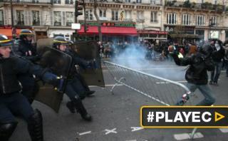 COP21: Disturbios en París dejan más de 200 detenidos