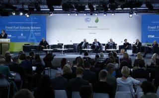 Cumbre de París hace enérgico llamamiento a preservar la Tierra