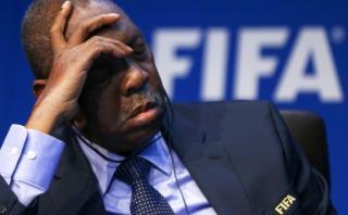 FIFA: presidente interino se durmió en conferencia de hoy