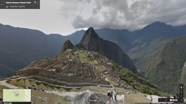 Machu Picchu ya puede ser visitado con Google Street View
