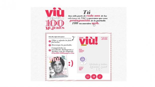 Conviértete en la chica de la portada Viù! 100