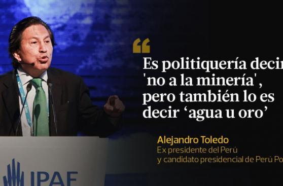 Alejandro Toledo y las frases que dejó en CADE 2015 [FOTOS]