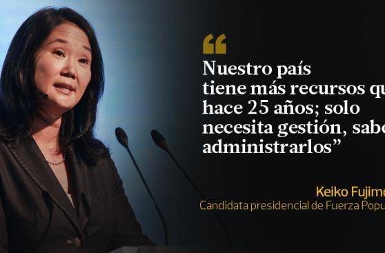 Keiko Fujimori y las frases que dejó en CADE 2015
