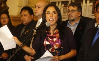Nadine Heredia critica a Keiko por su discurso en CADE 2015