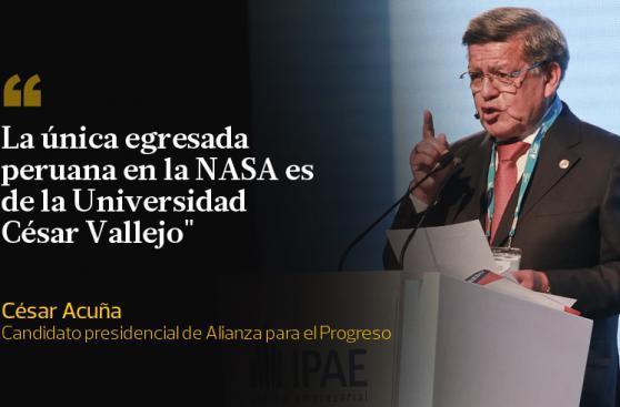 César Acuña y las frases que dejó en CADE 2015 [FOTOS]
