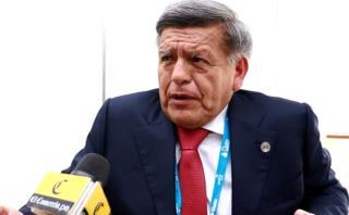César Acuña explica cómo sería su eventual ministro de Economía