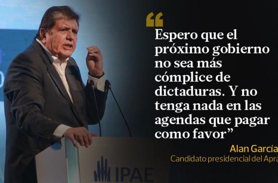 Alan García y las frases que dejó en CADE 2015 [FOTOS]