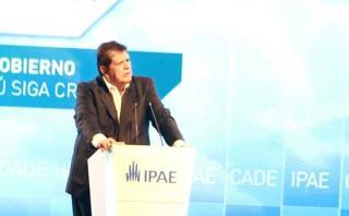 """García en CADE: """"Hay oportunidad de crecer algo más de 6%"""""""