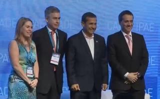 CADE 2015: Ollanta Humala clausuró el foro económico en Paracas