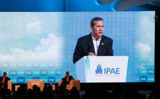 Humala clausura CADE: Candidatos no discutieron rumbo del país