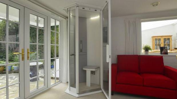 Instala en tu casa un ascensor al mejor estilo Star Trek