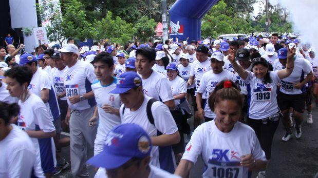 Contra la discriminación: promueven maratón en 7 regiones