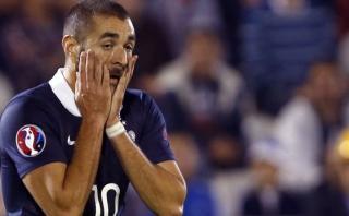 Karim Benzema apartado de la selección por federación francesa