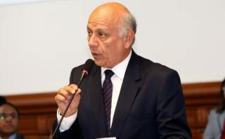 """Norman Lewis: """"Yo no conozco a Martín Belaunde Lossio"""""""