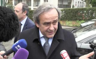 Michel Platini seguirá apartado del fútbol [VIDEO]