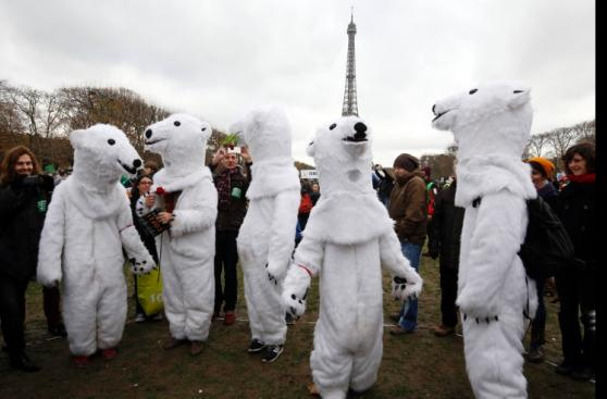 Cientos de manifestantes rechazan conclusiones de COP21 [FOTOS]