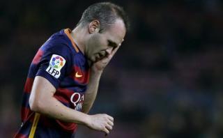 """Iniesta tras empate de Barcelona con La Coruña: """"Inexplicable"""""""