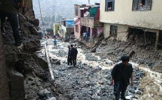 El Niño: instalarán mallas de acero en 9 quebradas de Chosica