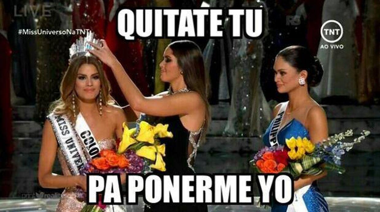 Memes del Miss Universo 2015 - 4
