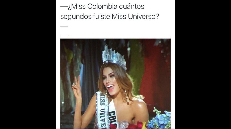 Memes del Miss Universo 2015 - 10