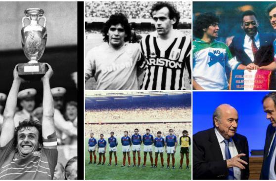 Michel Platini: de gloria del fútbol a castigado como dirigente