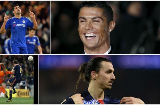 Cristiano y Zlatan lideran peculiar encuesta de L'Equipe