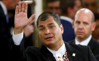 """Rafael Correa quemará con """"alegría"""" el 2015 en Año Nuevo"""