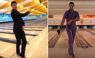 """Lewandowski y una partida de bowling como """"El gran Lebowski"""""""