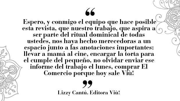 """Lizzy Cantú: """"Viù cumple dos años"""""""