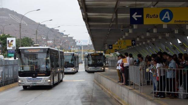 Se invertirán S/200 millones para ampliar vía del Metropolitano