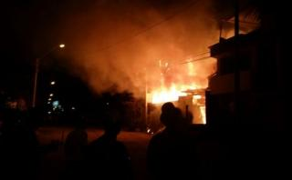 Año Nuevo: bomberos atendieron más de 60 incendios en 10 horas