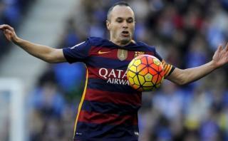 Barcelona: mira la mágica jugada de Andrés Iniesta [VIDEO]