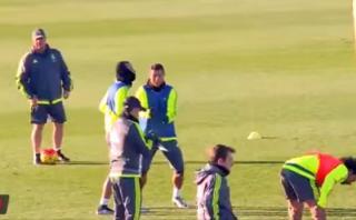 Ronaldo se burló del incidente de James con este gesto [VIDEO]