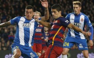 Luis Suárez recibió esta sanción por insultar a los de Espanyol