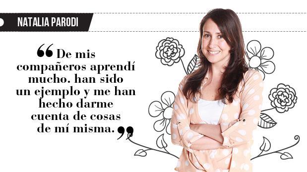 """Natalia Parodi: """"Gracias 3G"""""""