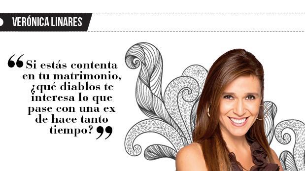 """Verónica Linares: """"La ex de tu actual pareja"""""""