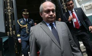 Cateriano, el abogado presidencial; por Erick Sablich Carpio