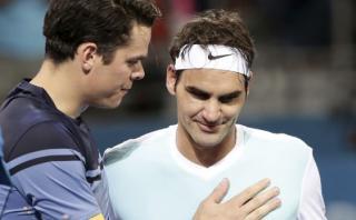 Federer perdió primera final del 2016: Raonic ganó en Brisbane