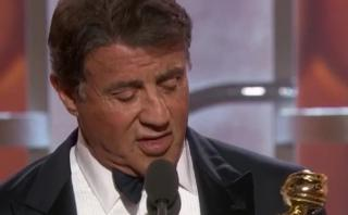 Globos de Oro: Sylvester Stallone ganó 39 años después de Rocky