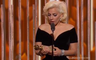 "Globos de Oro: Lady Gaga ganó por ""American Horror Story"""