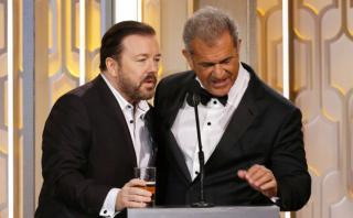 Globos de Oro: las 10 bromas más punzantes de Ricky Gervais