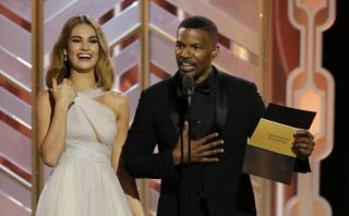 Globos de Oro: Jamie Foxx 'recordó' el error del Miss Universo